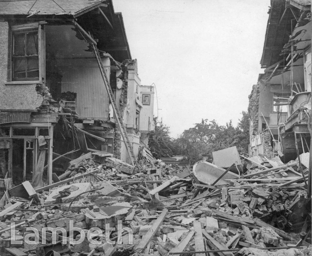 BAYTREE ROAD, BRIXTON CENTRAL: WORLD WAR I INCIDENT