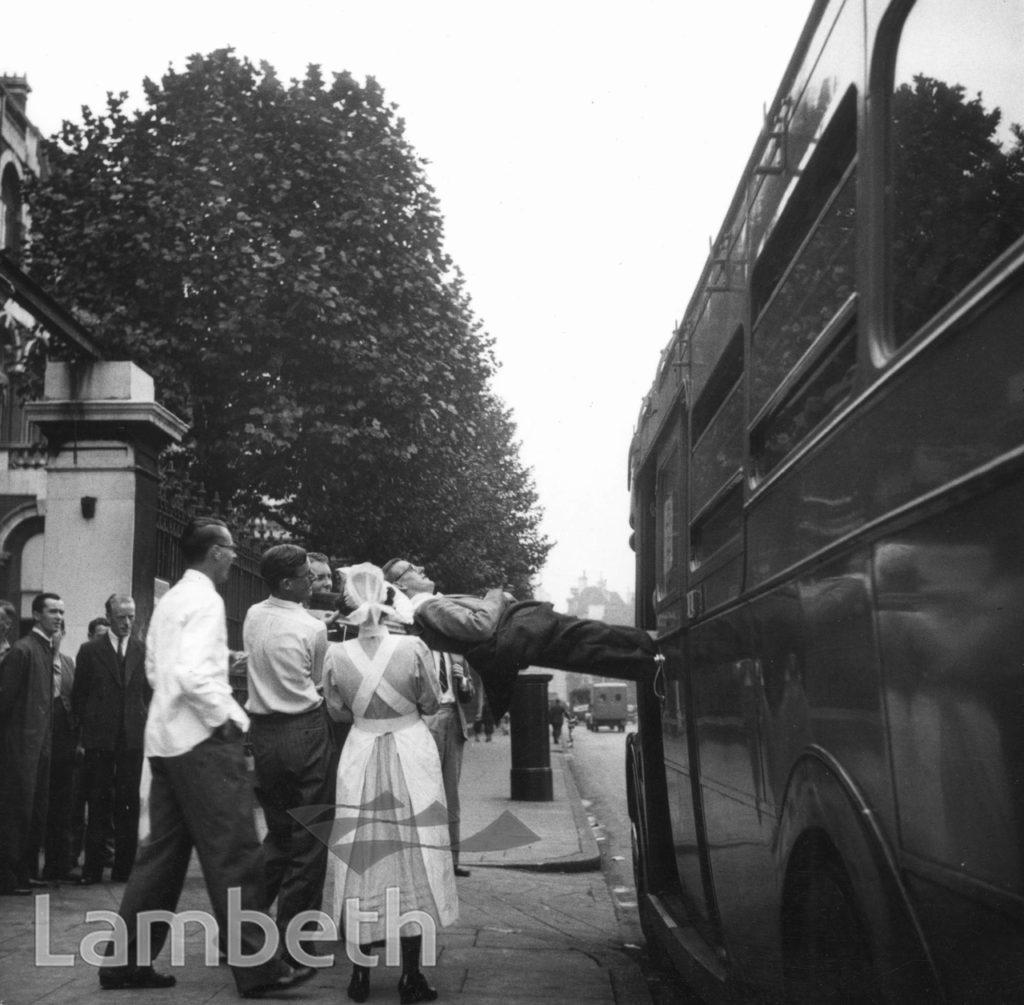 ST THOMAS' HOSPITAL, LAMBETH: EVACUATION, WORLD WAR II