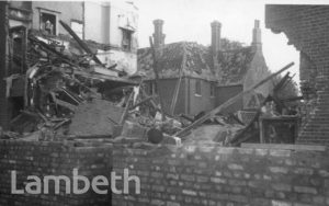 ROYAL STREET, LAMBETH: WORLD WAR II INCIDENT