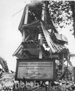 MORLEY COLLEGE, WATERLOO: WORLD WAR II INCIDENT
