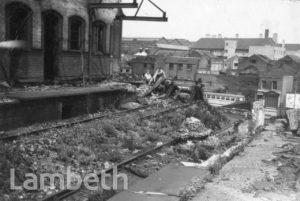 NECROPOLIS RAILWAY STATION, WATERLOO: WORLD WAR II INCIDENT