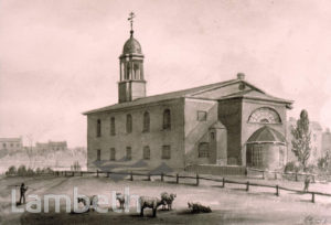 ST ANNE'S CHURCH, SOUTH LAMBETH ROAD, SOUTH LAMBETH