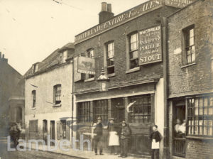 THE OLD RED COW, PRINCES STREET, LAMBETH