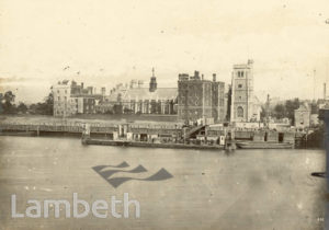 LAMBETH PALACE AND THAMES FORESHORE, LAMBETH