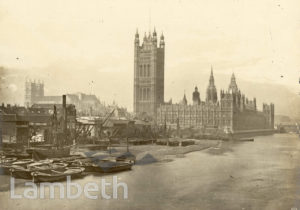 THAMES FORESHORE, WESTMINSTER