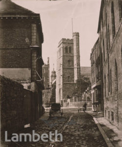 LOWER FORE STREET, LAMBETH
