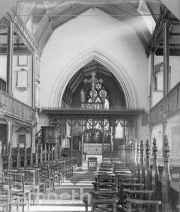 ST LEONARD'S CHURCH, STREATHAM