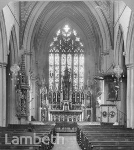ST MARY'S CHURCH, CLAPHAM