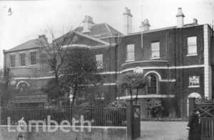 THE SHRUBBERY, STREATHAM HIGH ROAD,STREATHAM CENTRAL