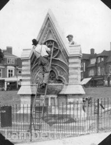 THE DYCE FOUNTAIN, STREATHAM GREEN, STREATHAM