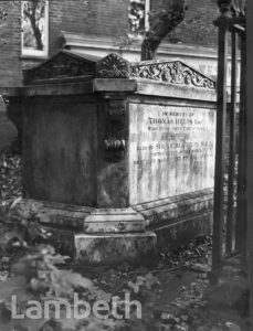 TOMB OF SIR ARTHUR HELPS, ST.LEONARD'S CHURCH, STREATHAM