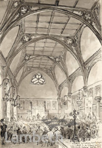 GUARD ROOM, LAMBETH PALACE, LAMBETH