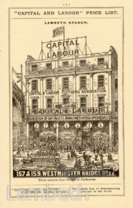 CAPITAL AND LABOUR CLOTHING ASSOCIATION, WATERLOO