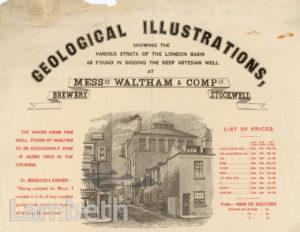 WALTHAM & COMPANY, BREWERY, STOCKWELL