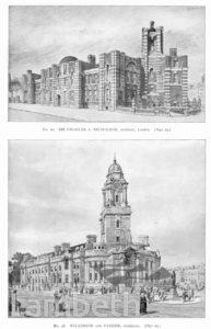 LAMBETH TOWN HALL, BRIXTON
