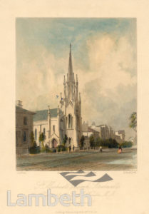 ST MICHAEL'S CHURCH, STOCKWELL PARK ROAD, STOCKWELL