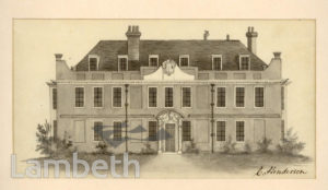 ANGELL'S HOUSE, STOCKWELL COMMON, STOCKWELL