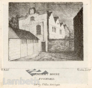 ANCIENT HOUSE, STOCKWELL