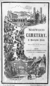 NORWOOD CEMETERY, NORWOOD ROAD, WEST NORWOOD