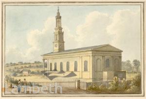 ST LUKE'S CHURCH, NORWOOD HIGH STREET, WEST NORWOOD