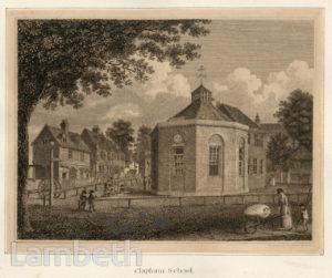 CLAPHAM PAROCHIAL SCHOOL, OLD TOWN, CLAPHAM