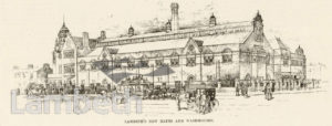 LAMBETH PUBLIC BATHS, LAMBETH ROAD, LAMBETH