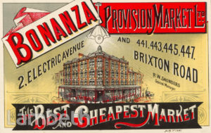 BONANZA MARKET, ELECTRIC AVENUE, BRIXTON CENTRAL