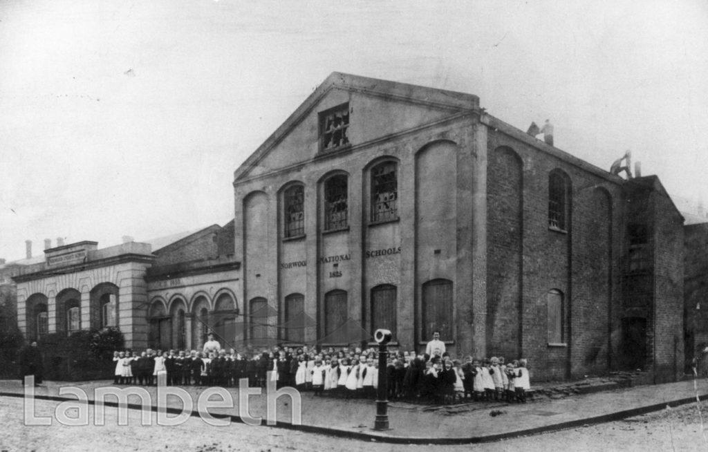 ST LUKE'S CHURCH SCHOOL, ELDER ROAD, WEST NORWOOD