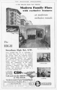 THE HIGH, STREATHAM HILL ROAD, STREATHAM HILL