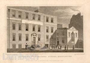 LICENSED VICTUALLER'S SCHOOL, KENNINGTON LANE, KENNINGTON