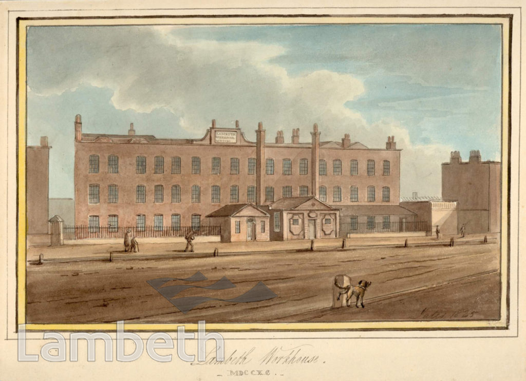 LAMBETH WORKHOUSE, PRINCES ROAD, LAMBETH