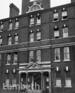 LAMBETH HOSPITAL, BROOK DRIVE, KENNINGTON