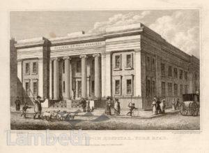 GENERAL LYING-IN HOSPITAL, YORK ROAD, WATERLOO