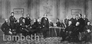 JOSEPH PAXTON AT RAILWAY MEETING