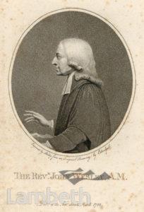 WESLEY- Rev. John