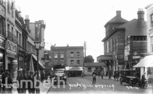HERNE HILL STATION, RAILTON ROAD,  HERNE HILL