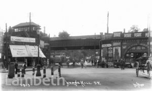 HERNE HILL STATION, HERNE HILL