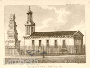ST MATTHEW'S CHURCH, CENTRAL BRIXTON