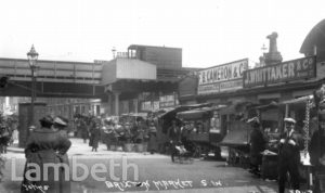 BRIXTON MARKET, POPES ROAD, BRIXTON CENTRAL