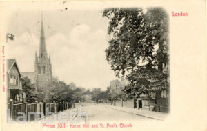 ST PAUL'S CHURCH, HERNE HILL