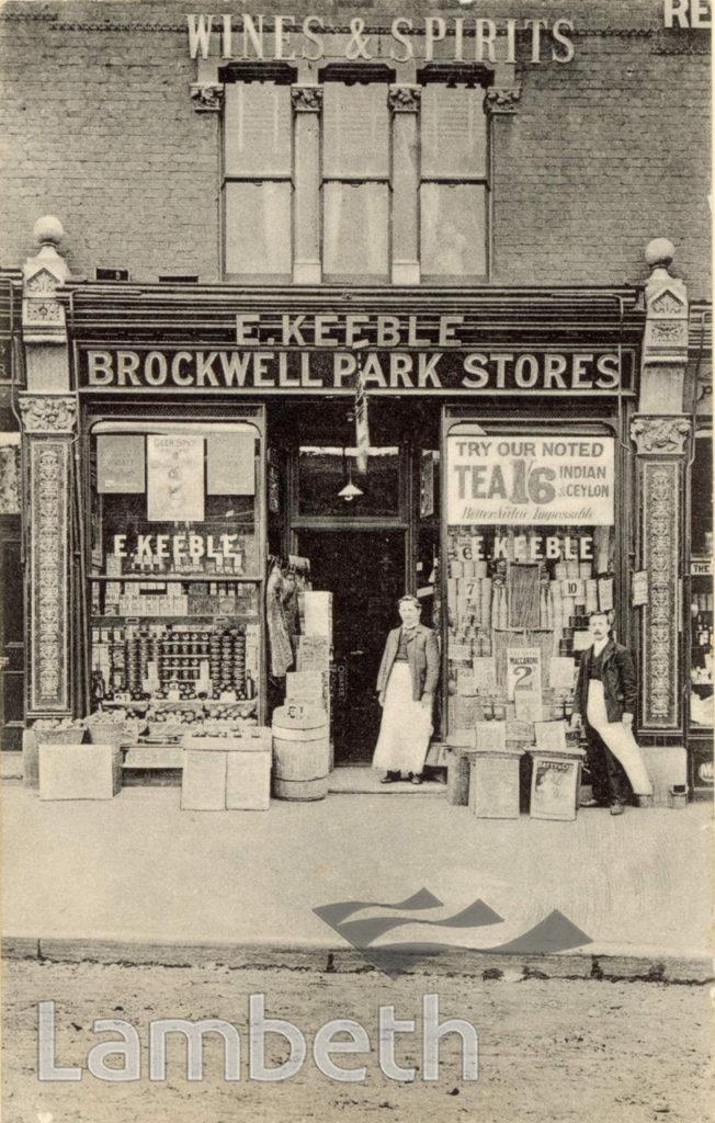 BROCKWELL PARK STORES, MILKWOOD ROAD, HERNE HILL