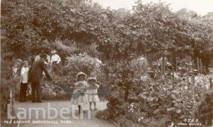 OLD GARDEN, BROCKWELL PARK, HERNE HILL