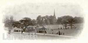 CRICKET GROUND, BROCKWELL PARK, HERNE HILL