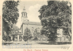 HOLY TRINITY CHURCH, CLAPHAM COMMON, CLAPHAM
