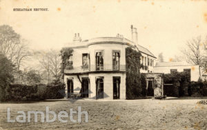 STREATHAM RECTORY, TOOTING BEC GARDENS, STREATHAM CENTRAL