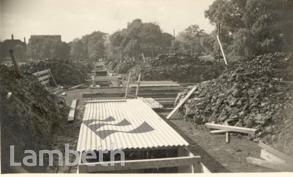 TOOTING BEC COMMON, AIR RAID SHELTERS