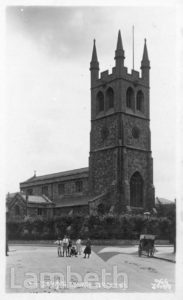 ST JOHN'S CHURCH, WILTSHIRE ROAD, CENTRAL BRIXTON