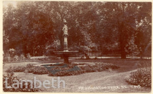 DOULTON FOUNTAIN, KENNINGTON PARK, KENNINGTON