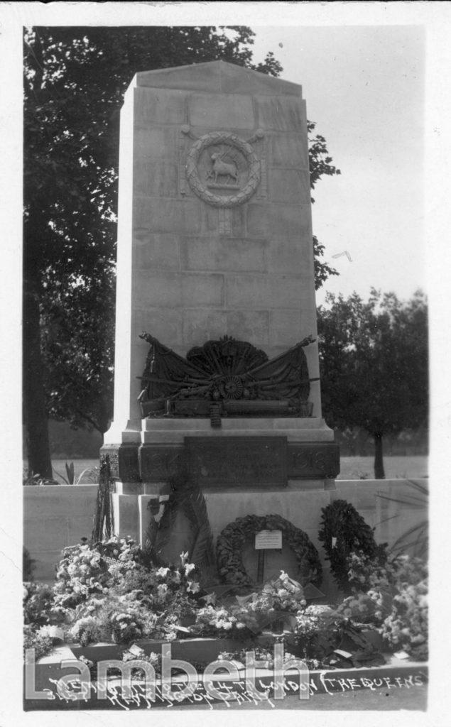 21st LONDON MEMORIAL, KENNINGTON PARK, KENNINGTON