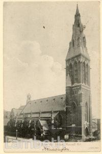 ST JOHN'S CHURCH, VASSALL ROAD, NORTH BRIXTON